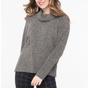 🛍2/$40! NEW! Ricki's Ribbed Cowl Neck Pullover Sweater